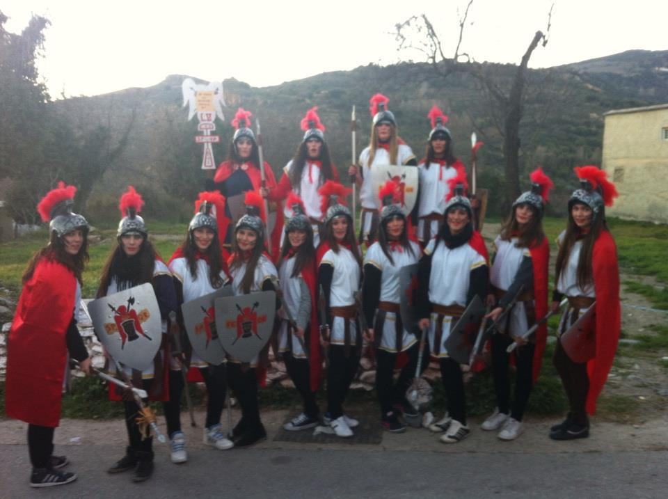 Lanceras cabalgata 2013
