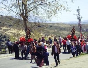 Procesión de San Marcos en Berchules