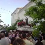 Salida de Santa Rita de la Iglesia